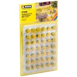 07026 Кусты желтые 6-12мм (42шт) - фото 10960