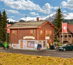 38021 Деревянная автостанция в Давосе - фото 12218
