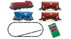 931701 Аналоговый стартовый набор 1:160 «Грузовой поезд с тепловозом Em 4/4», N, IV-V, SBB - фото 12394