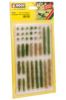 07125 Кусты(18), полоски травы(18) h-6mm - фото 12588