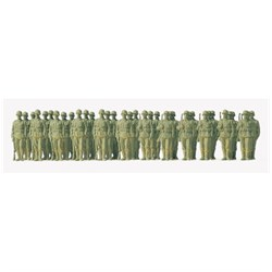 72533 Пехота стоящая, Германия 1935-45. 36 фиг.(некраш.) - фото 12649