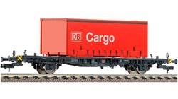 523402 Платформа Lgjs 598 с контейнером «Cargo», H0, V, DB AG - фото 13100