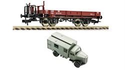 525301 Платформа X 05 + грузовик «DBP», H0, III, DB - фото 13102