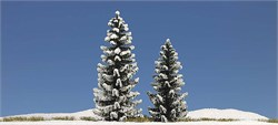 6152 Ёлки в снегу (2) деревья 90+120мм - фото 13163