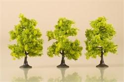 70935 Деревья лиственные (3) светло-зеленые 7 см - фото 13239
