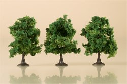 70936 Деревья лиственные (3) темно-зеленые 7 см - фото 13241