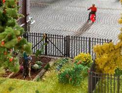 180958 Забор железный 200мм - фото 13344