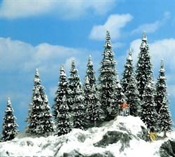 6566 Ели в снегу 20 шт, 30-60мм, деревья - фото 13628