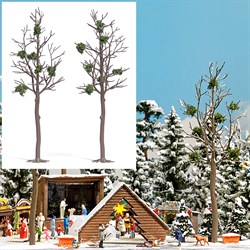 """6795 Деревья """"голые"""" зимние 2шт.,165мм - фото 14111"""