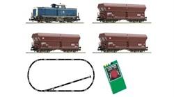 931705 Аналоговый стартовый набор «Грузовой поезд с тепловозом BR 212», N, V, DB AG - фото 14623