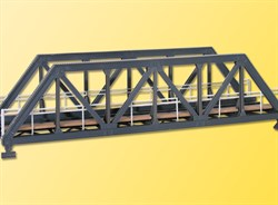 39701 Мост стальной однопутный 27,5см - фото 4771
