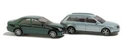 8346 Авто (Audi A4 Avant + Mercedes-Benz C-Klasse) металлик - фото 6007
