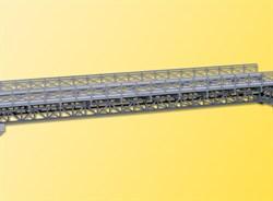 39707 Стальной мост однопутный 33,5см - фото 7311