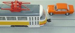 34125 Брусчатка с трамвайными рельсами (20 х 12 см) - фото 8776