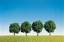 181412 Лиственные деревья 6см (4шт.)