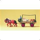 30434 Лошади с почтовой телегой