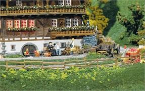 180406 Забор садовый и в поле 2360 мм