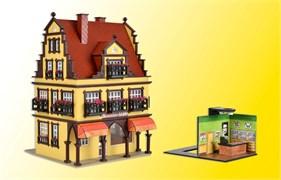 43840 Дом с ювелирным магазином с освещением (романтик-коллекция)