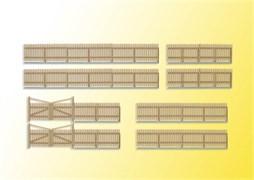 38625 Деревянный забор 84см