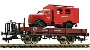 525302 Платформа X 05 + грузовик, II, DRG 37-49