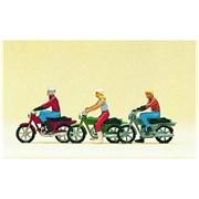10126 Мотоциклисты, мотоциклы (3+3)