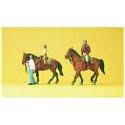 10501 Наездники, лошади
