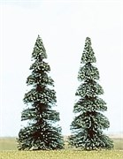 6103 Елки деревья 2шт. 90мм