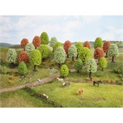 26906 Цветущие деревья 5-9см (10шт)