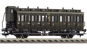 507103 Купейный вагон 3 кл. Bauart C pr21, II, DRG