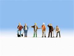 15110 Рабочие на стройке