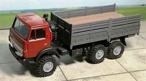 RUSAM-KAMAZ-4310-24-350 Автомобиль КамАЗ 4310 высокий борт (красный), 1:87, 1979, СССР