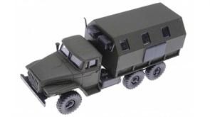 RUSAM-URAL-4320-32-000 Грузовой автомобиль УРАЛ 4320 кунг, 1:87, c 1977, СССР