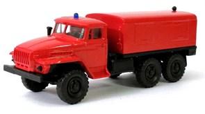RUSAM-URAL-4320-40-300 Пожарная генераторная установка на базе УРАЛ 4320, 1:87, 1977, СССР