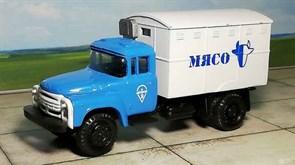 RUSAM-ZIL-130-44-608 Автомобиль ЗИЛ 130 термо-кунг холодильник «МЯСО», 1:87, 1963—1986, СССР