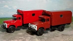 RUSAM-ZIL-130-50-200 Автомобиль технической помощи ЗИЛ 130 (красный) (1 шт.), 1:87, 1963—1986, СССР