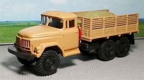 RUSAM-ZIL-131-23-440 Автомобиль грузовой ЗИЛ 131 высокий борт с грузом в кузове, 1:87, 1966—2002, СССР