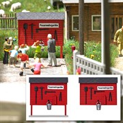 1176 Пожарные щиты ( 2шт )