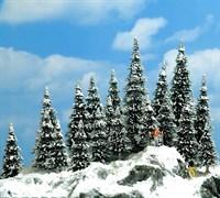 6566 Ели в снегу 20 шт, 30-60мм, деревья