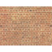 57730 Стена кирпич 64*15см (картон) Н0/ТТ