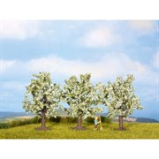25511 Фруктовое дерево цветущее, 4,5см (3шт), деревья