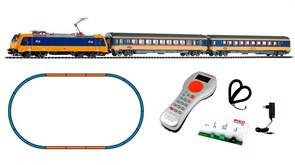 59005 Цифровой стартовый набор «Пассажирский состав с электровозом BR 185», H0, VI, NS, PIKO SmartControl®