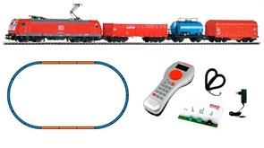 59004 Цифровой стартовый набор «Грузовой состав с электровозом BR 185», H0, V, DB AG, PIKO SmartControl®