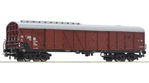 76553 Товарный вагон тип Hacgrs-v, H0, IV, DR