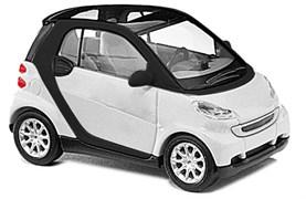 60202 Smart Fortwo 07,белый (сборная модель)