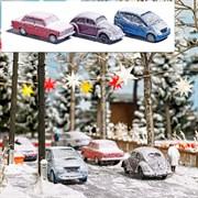 89010 Авто в снегу (3шт.)