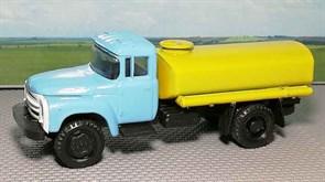 RUSAM-ZIL-130-65-640 ЗИЛ 130 для полива (жёлтая цистерна), 1:87, 1963—1986, СССР