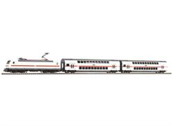 57133 Стартовый набор PIKO «Пассажирский состав с электровозом BR146 и двумя двухэтажными вагонами IC» DB AG VI
