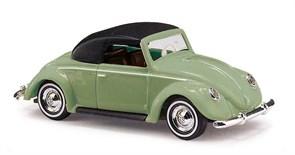 46733 VW Hebmüller Cabrio закрытый, зеленый