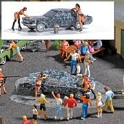 7824 Мойка авто + 2 фигурки