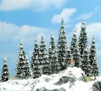 6466 Деревья Ели в снегу 60-135мм 20шт.